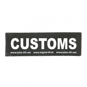 CUSTOMS - Logo klein, 1 Paar!