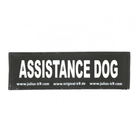 ASSISTANCE DOG - Logo groß, 1 Paar!