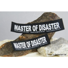 MASTER OF DISASTER - Logo groß, 1 Paar!