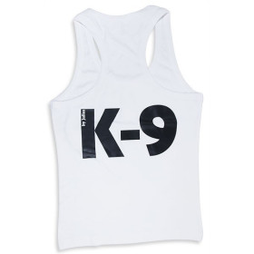 K9 singlets for male, white, size XL