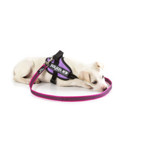 K9 Super-grip leash PINK diam. 20mm / 1 m without handle, max for 50 kg dog