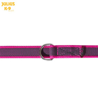 K9 Double leash, PINK, adjustable  diam.20 mm / 2,2 m, max for 50 kg dog