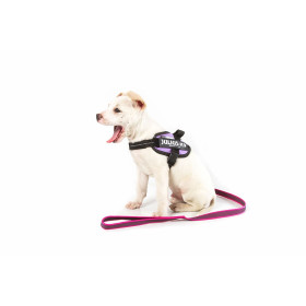 K9 Super-grip leash PINK diam.20mm / 1 m with handle, max for 50 kg dog