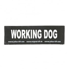 WORKING DOG- Logo klein, 1 Paar!