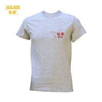 T-Shirt / K9-USA grey size S