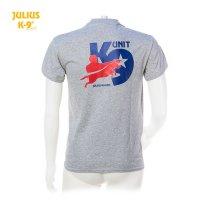 T-Shirt / K9-USA2 grey size S