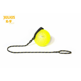 Fluorescens ball with string diam.60mm  - smooth