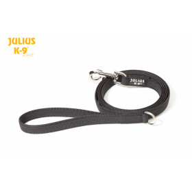 K9 Super-grip leash diam.20mm / 1,8 m with handle and brass carabiner, max for 50 kg dog