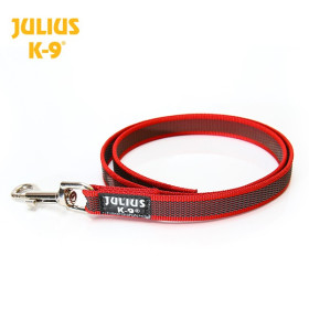 K9 Red Super-grip leash diam. 20mm / 1 m without handle, max for 50 kg dog