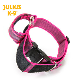 K9 Collar with closable handle and safety lock, variable...