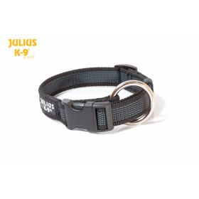 Color & Gray Collar  diam. 25 mm x 39-65 cm, black-gray