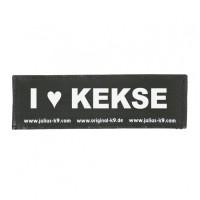 I LOVE KEKSE - Logo big, 1 Pair!