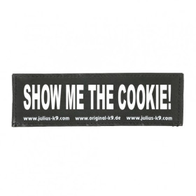 SHOW ME THE COOKIE! - Logo small, 1 Pair!