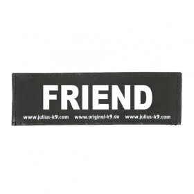 FRIEND- Logo small, 1 Pair!