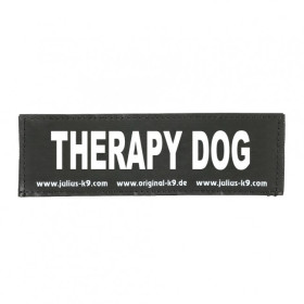 THERAPY DOG - Logo groß, 1 Paar!