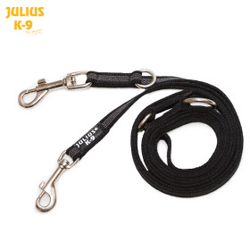 K9 Double leash,adjustable  diam.20 mm / 2,2 m, max for 50 kg dog