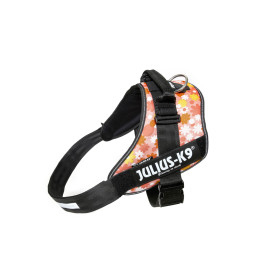 IDC-Powerharness for labels, size 4 pink with Flowers