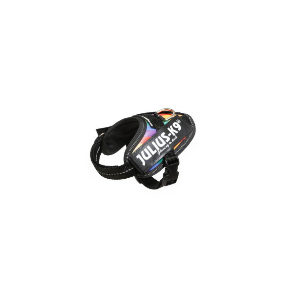 IDC®-Powerharness, Size: Baby 1, Artificial leather rainbow