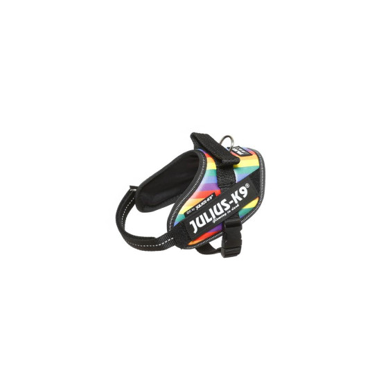 IDC-Powerharness for labels,Mini-Mini Artificial leather rainbow