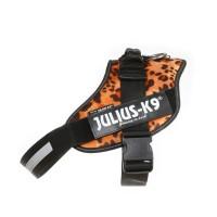 IDC®Powergeschirr with Logofeld, size 3 leopard-samt