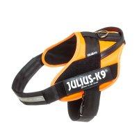 IDC® STEALTH Powerherness mit Logofeld, Gr. 3 UV orange