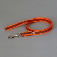 K9 Super-grip leash orange-grey diam.20mm / 2 m without handle, max for 50 kg dog