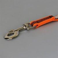 K9 Super-grip leash orange-grey diam.20mm / 2 m with...