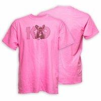 Original K9® T-Shirt French bulldog Gr.:L- pink