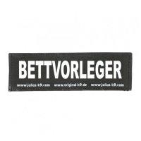 BETTVORLEGER - Logo groß, 1 Paar!