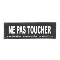 NE PAS TOUCHER - Logo klein, 1 Paar!