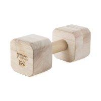 Dumbbell 2000 gr hard, square
