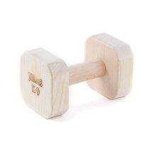 Dumbbell 1000 gr hard, square