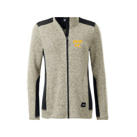 Ladies Outdoor Strickfleece Jacket