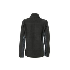 Mens Outdoor Fleece Jacket - Black/Carbon - Groesse XL