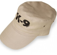 K9 - Units Kappe, militärischer Stil / Baumwolle, beige