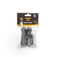 Plastic holder for dog pick-up bags