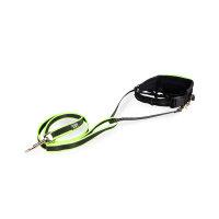 JULIUS-K9® Premium jogging leash - black/neon, 1.3 m