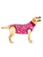 """Recovery Suit """"XL"""" Camouflage pink, Dog"""