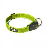 Color & Gray Halsband, Durchm.25mm x 39-65 cm, neon-grau-MIT VERPACKUNG