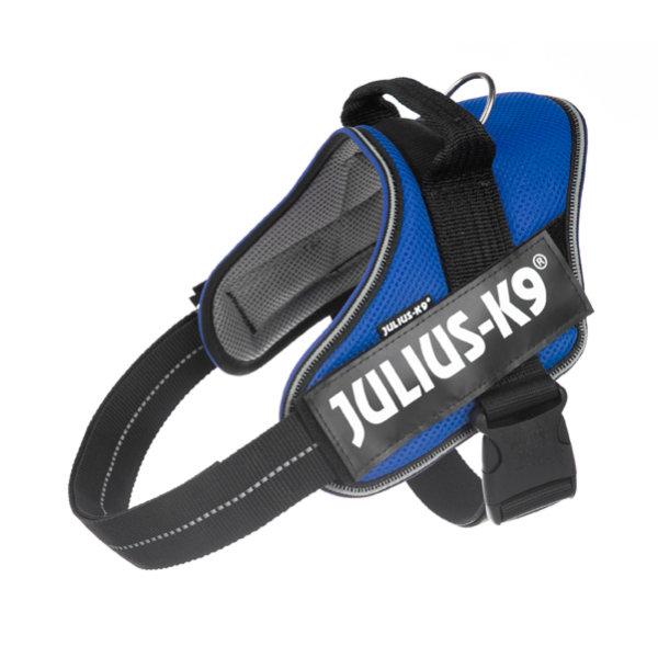 IDC® POWAIR Geschirr mit Logofeld, Gr.: L, blau