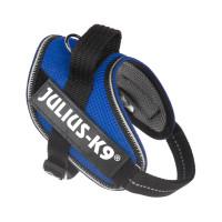 IDC® POWAIR Geschirr mit Logofeld, Gr.: XS, blau