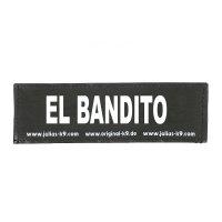 EL BANDITO - Logo groß, 1 Paar!