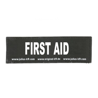 FIRST AID - 1 Logo groß, 1 Paar!
