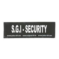 S.G.I - SECURITY - Logo groß, 1 Paar!
